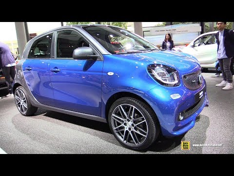 2018 Smart ForFour Brabus - Exterior and Interior Walkaround - 2017 Frankfurt Auto Show