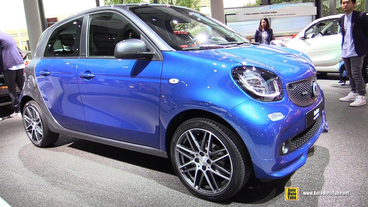Super 2018 Smart ForFour Brabus - Exterior and Interior Walkaround  JH59