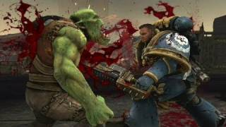 Warhammer 40,000: Space Marine - Be a Space Marine Gameplay Developer Diary (2011) OFFICIAL | HD