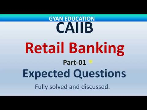 CAIIB Expected Questions | Retail Banking | Mod-A | Mock test