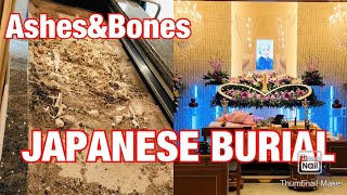 Japanese Burial | Japanese traditions | body to ashes | kim stories