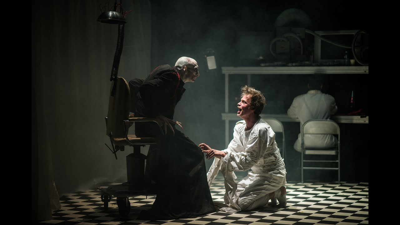 """TEASER ! """"Dracula - Asylum""""   d'après Bram Stoker par le Collectif La Machine"""