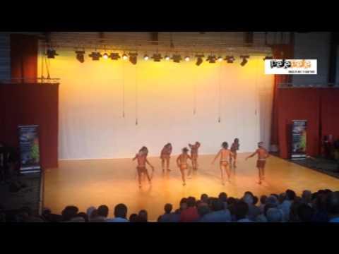 PelePele dancers - Swaziland Setape Festi Roche in France 2015