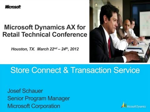 Microsoft Dynamics AX 2012 Retail Store Connect and Transaction Service