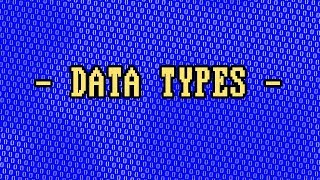 What Are Data Types?