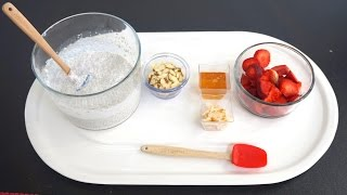 Delicious Strawberry And Chia Pudding To Burn Belly Fat