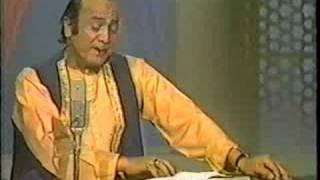 Mehdi Hassan - Patta Patta Boota Boota Ustad Tari khan
