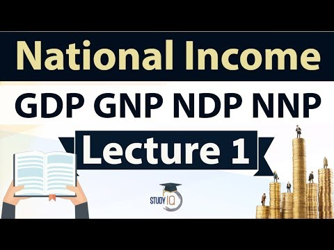 National income - GDP GNP NDP NNP Explained - Indian Economy