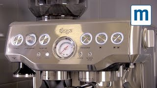 Sage by Heston Blumenthal Barista Express - Mumsnet product demo