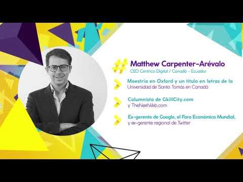 #DisruptEcuador 2017 - Matthew Carpenter-Arévalo