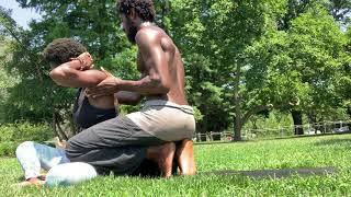 Thai Massage + Client Testimonial + Guided Meditation (RAW FOOTAGE)