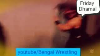 Jinder Mahal Attack on Roman Reigns wwe raw.
