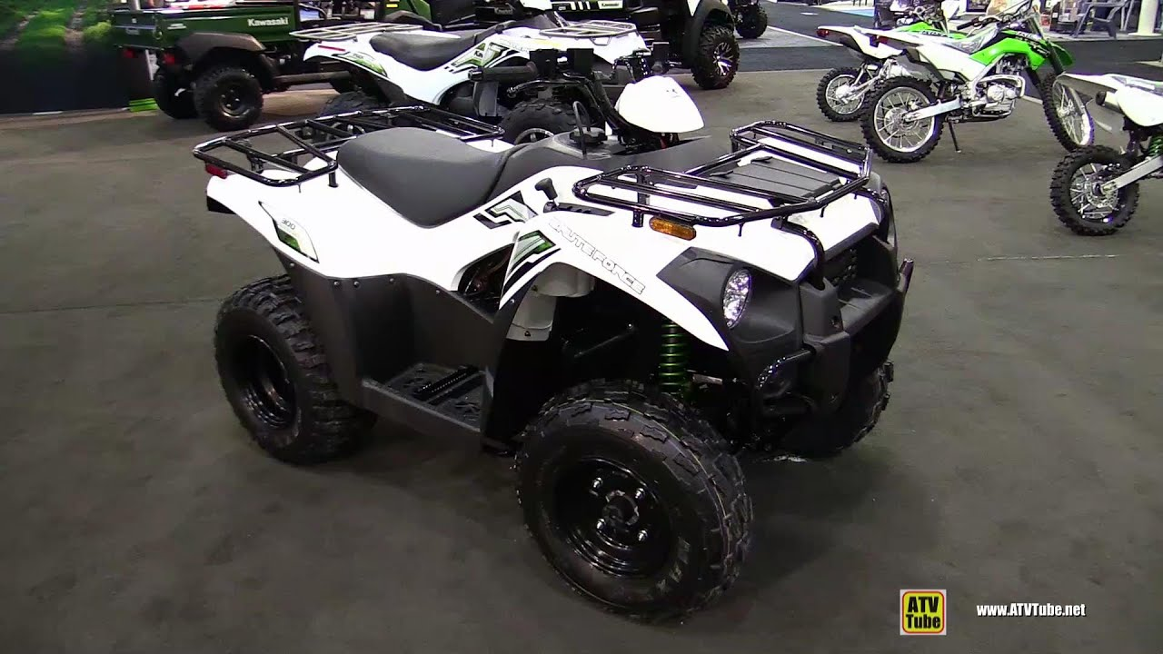 2015 kawasaki brute force 300 - walkaround - 2014 toronto atv show