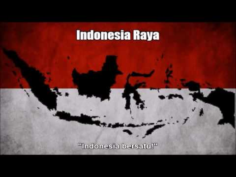 National Anthem of Indonesia (Indonesia Raya) - Nightcore Style With Lyrics