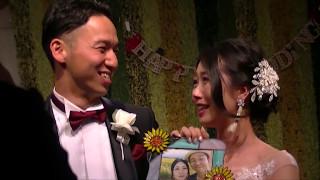 【結婚式】サプライズムービー新郎から新婦へ…パラパラ漫画&フォトフレーム