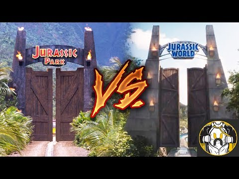 Comparing the Attractions: Jurassic Park vs Jurassic World