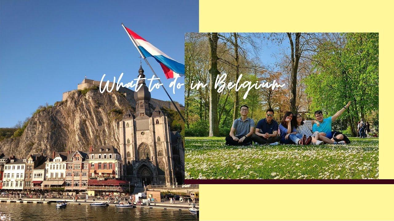 ĂN GÌ CHƠI GÌ Ở BỈ ❤ Belgium Travel Diary | Taste From Home