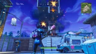 FORTNITE INSANE GLITCH HOW TO DESTROY ANY BUILDING INSTANTLY *NOT CLICKBAIT*