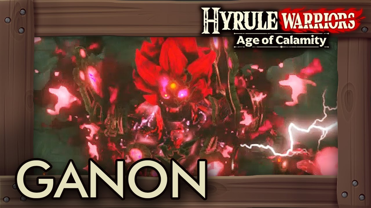 Hyrule Warriors Age Of Calamity How To Unlock Ganon Gameplay Youtube