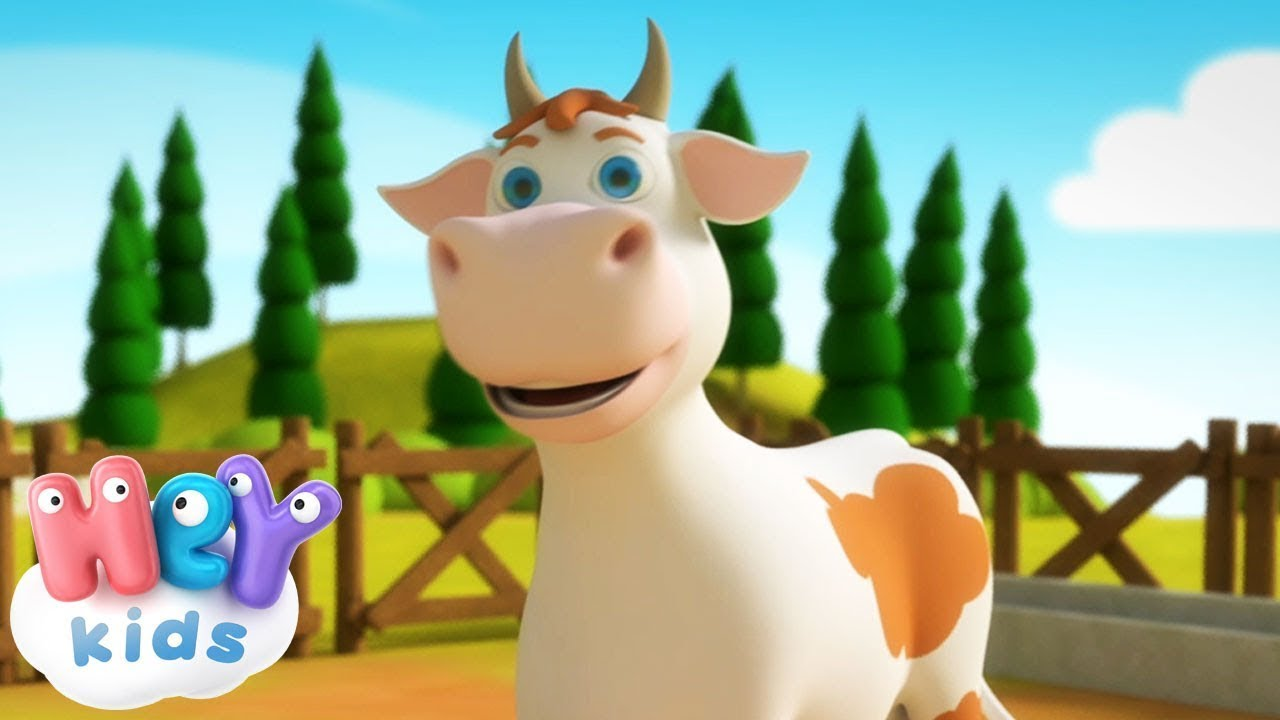 Lola The Cow cartoon for kids | Educational cartoons and songs for children by HeyKids