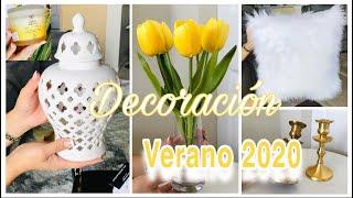 DECORACIÓN VERANO 2020/COMPRAS PARA DECORAR  MI HOGAR-SUMMER DECOR HAUL