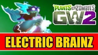 Plants vs Zombies Garden Warfare 2 - GREAT WHITE NORTH MAP + ELECTRIC BRAINZ VARIANT