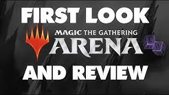 Unofficial First Look at MTG Arena and Review