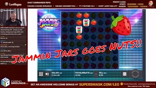 Jammin Jars is NUTS!! Crazy Bonus *My best win ever!*