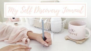 My Self Discovery Journal: DIY + Prompt Ideas