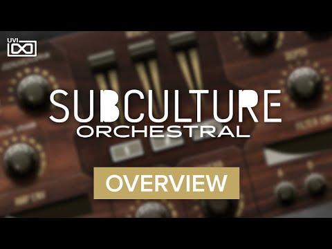UVI SubCulture Orchestral for Falcon |Overview