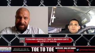 Frank Trigg interviews Bellator 174's Fernando Gonazlez