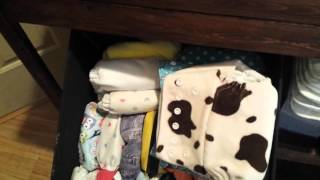 How I Store My Cloth Diapers  (short video)