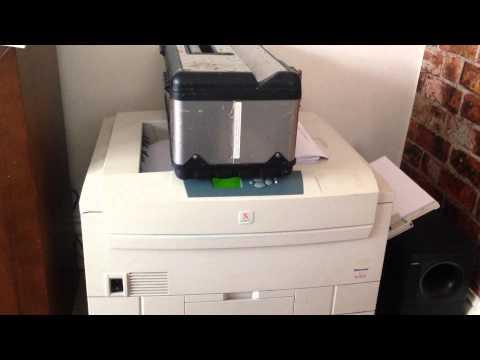 Xerox Phaser 7300 DN Printer - reseat toner error solution