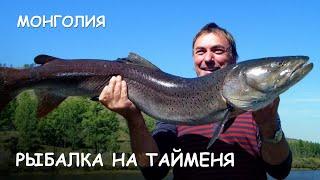 Мир Приключений - Рыбалка на Тайменя. Лучшее путешествие в Монголию. Taimen fishing. Mongolia.