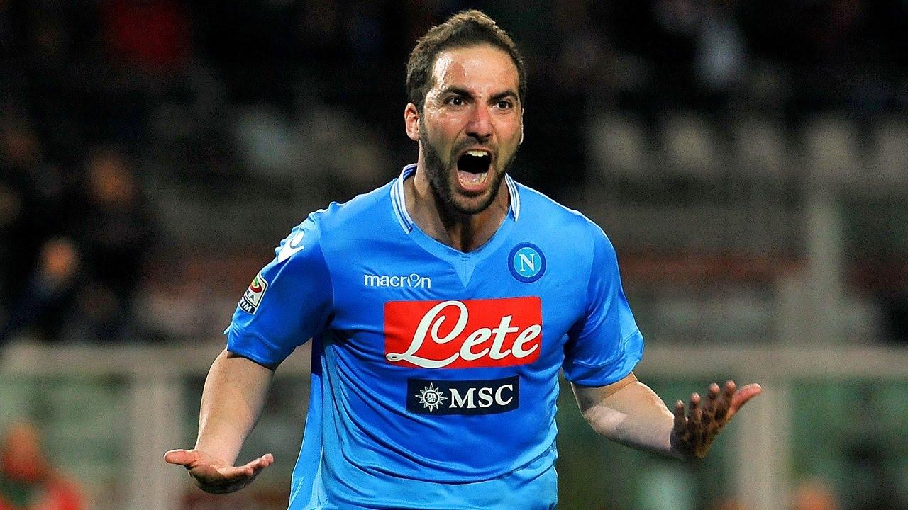 Tutti i gol di Gonzalo Higuan in Serie A 2015 16