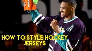 How to Style Hockey Jersey