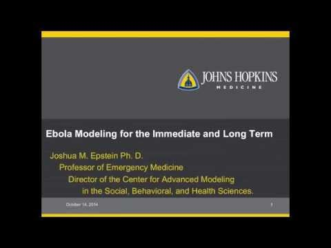 Ebola Crisis Dean's Symposium, Part 5: Immediate & Long Term Ebola Modeling
