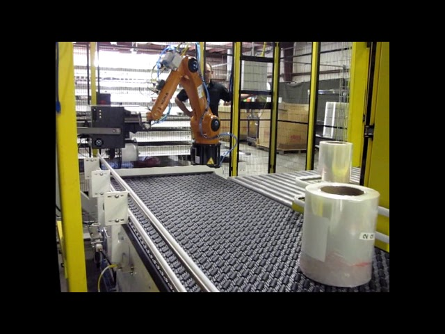 Robotic Package Labeling