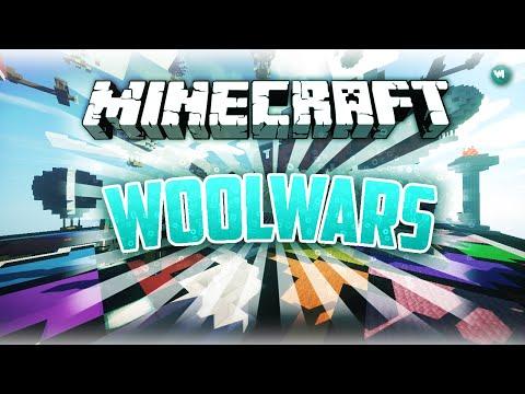 Minecraft: WoolWars Gameplay #1 | LegoICS