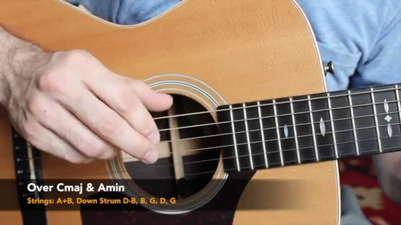 acoustic finger style guitar lesson five folk finger picking patterns youtube. Black Bedroom Furniture Sets. Home Design Ideas