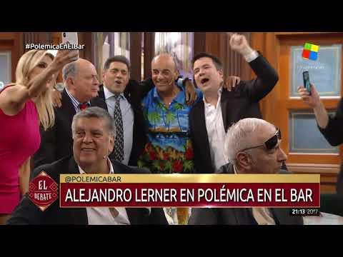 Lerner cantó sus grandes éxitos en Polémica