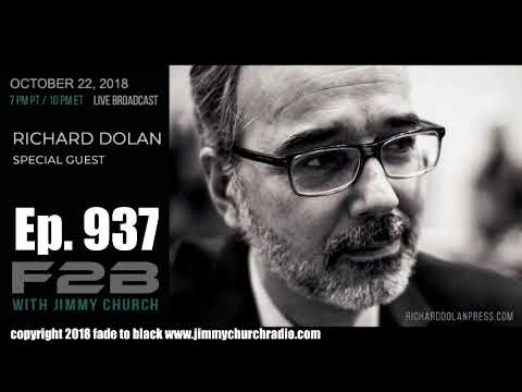 Ep 937 FADE to BLACK Jimmy Church w Richard Dolan : Our UFO Community, The Conversation :