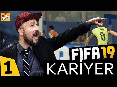FIFA 19 KARİYER #1 Bir Kasaba Takımının 4. Ligden Şampiyonlar Ligine Zorlu Yolculuğu!