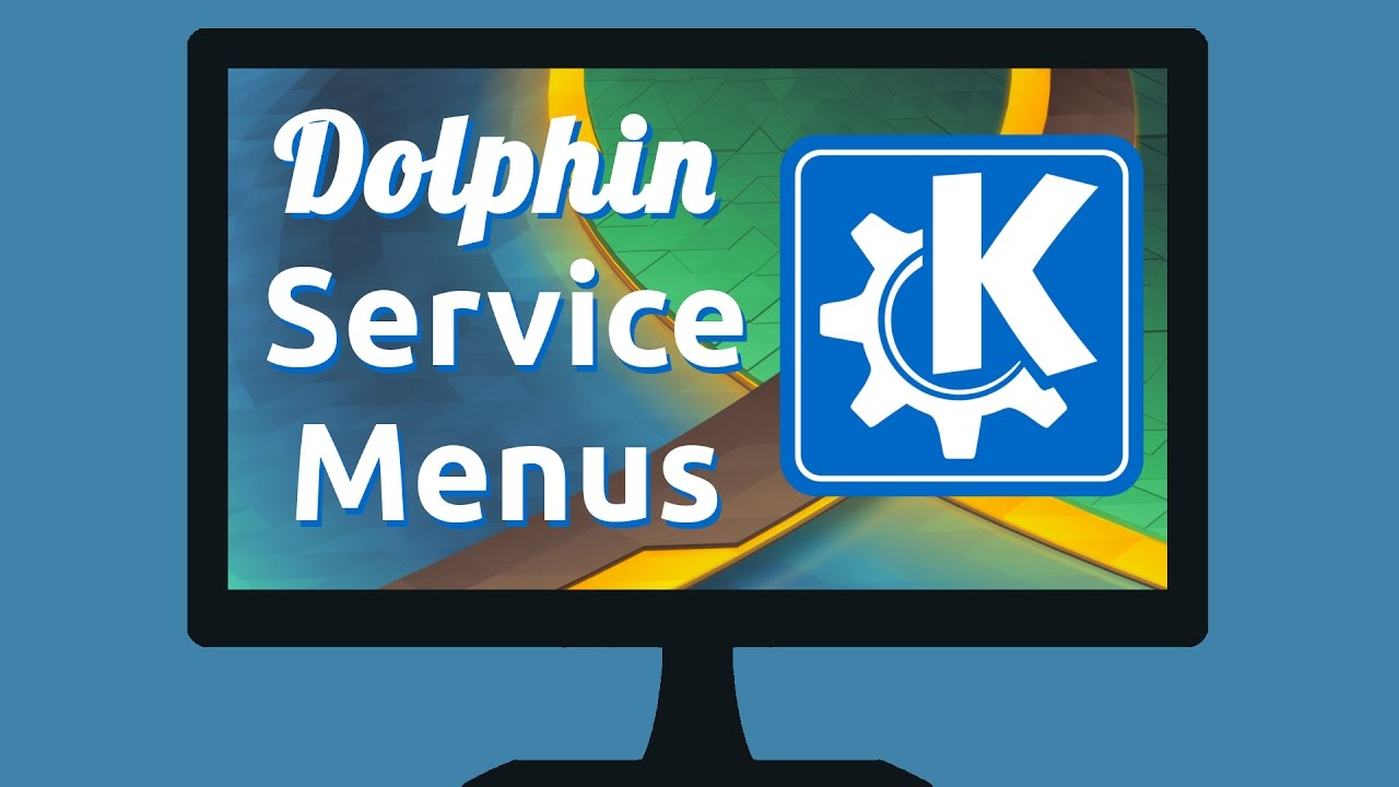 Dolphin Service Menus - KDE Store