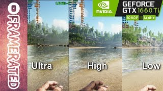 Ark Survival Evolved | GTX 1660 Ti | Ultra/High/Low Settings | Quick FPS Test