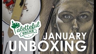 January Paletteful Packs Unboxing & Demo with HulloAlice