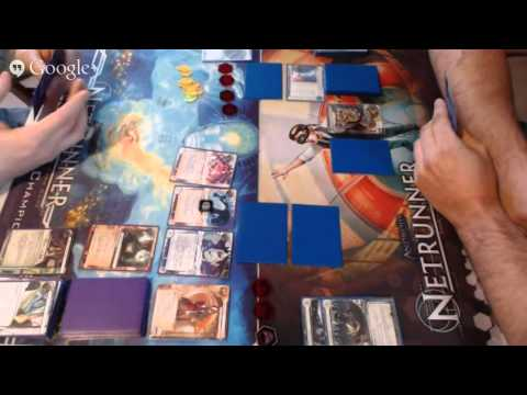Netrunner Live Game Feed; Bad Publicity 1/2/2014