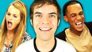 Repeat youtube video TEENS REACT TO JACKSFILMS