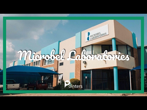 Microbel laboratories — Johannesburg | DRONE FOOTAGE | Pointers Travel