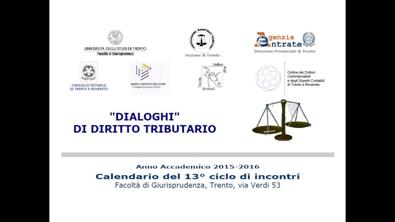 Unitn Calendario Accademico.Sanzioni Trento 23 Marzo 2016